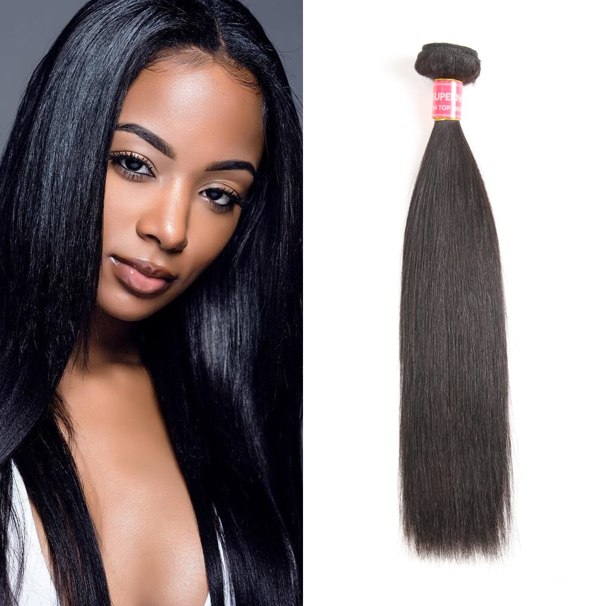 Amazon Supernova Brazilian Straight 1 Bundle 100 Unprocessed
