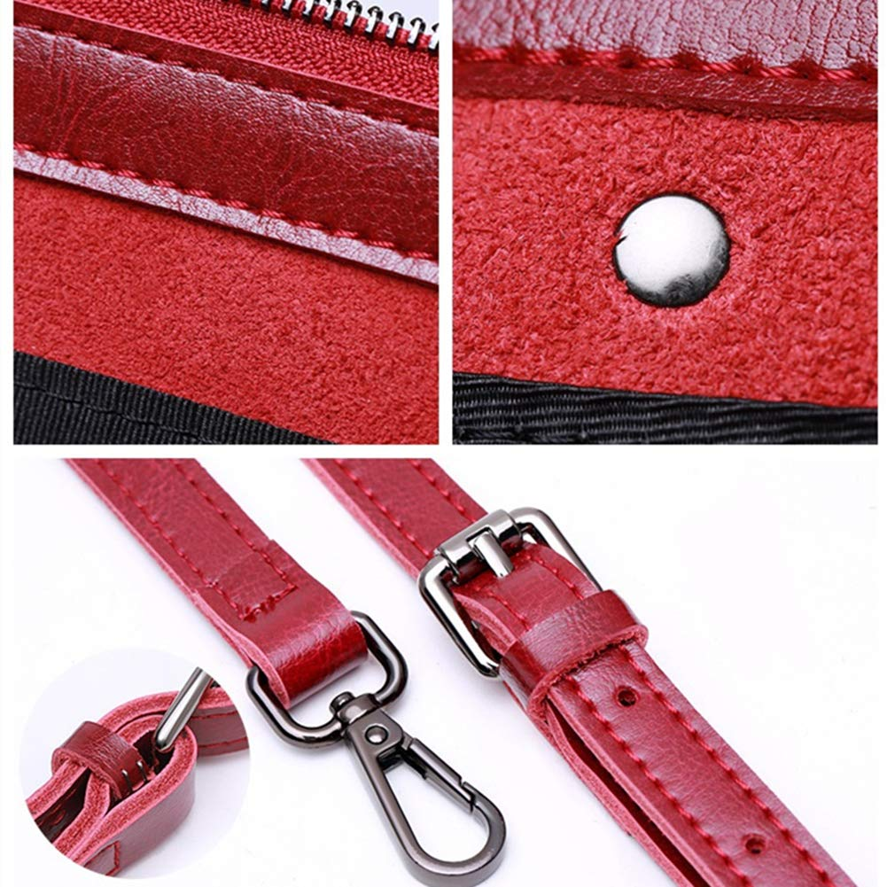 Niustore Damen Umhängetasche, Ledertasche (Rot) B07PH57WKR Umhngetaschen König König König der Quantität 2d8c19