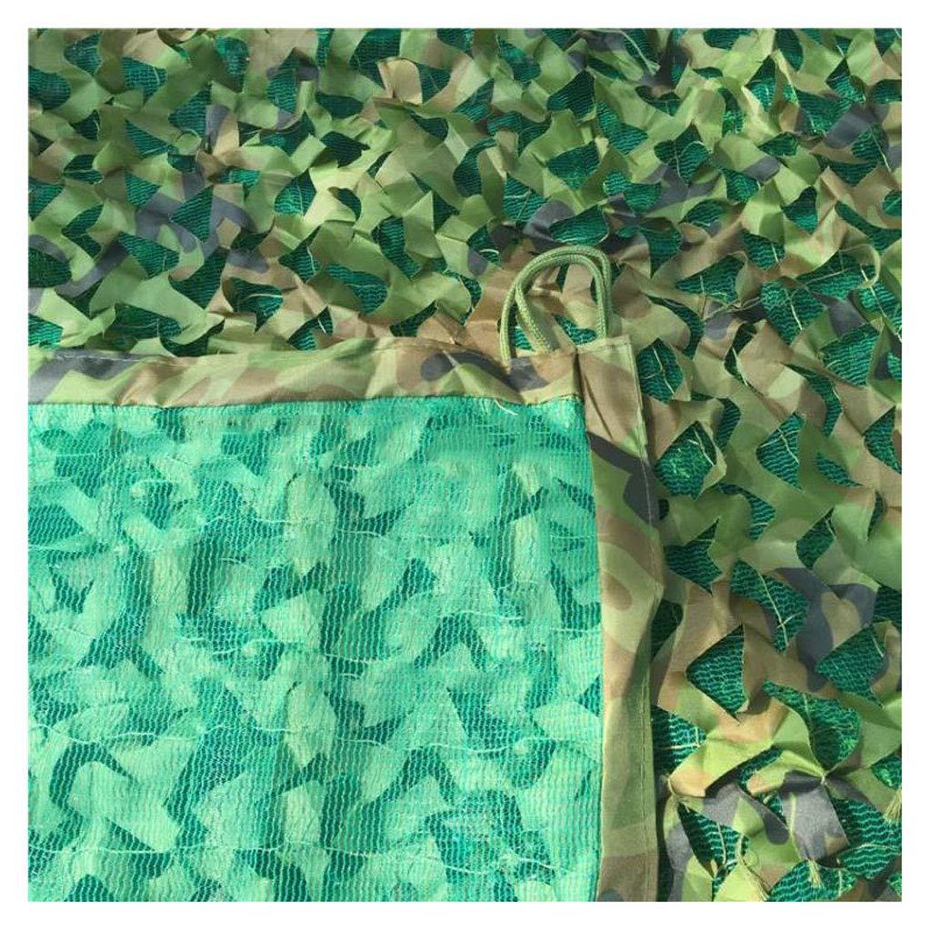 カモフラージュネット 3層の厚さの迷彩ネット グリーンカモフラージュネットキャンプ隠し森林狩りプールカモフラージュテントサンシャイン写真パーティーゲームハロウィンのクリスマスの装飾に適して (サイズ さいず : 3 * 3m) 3*3m  B07HX5KM1T