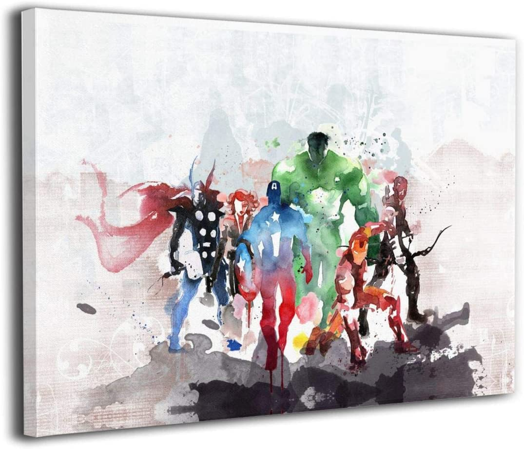 """12/""""x16/""""Super hero HD Canvas prints Painting Home Decor Picture Room Wall art"""