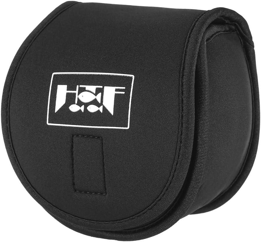 Lixada Fishing Reel Wheel Bag Protective Cover Spinning Reel Wheel Protective Case Sleeve Fishing Bags