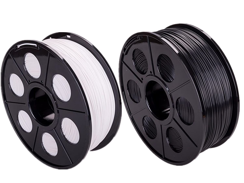 ectxo Blanco + Negro 2 Set PLA 1.75 mm 1 kg/rollo Impresora 3d ...