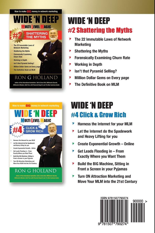 Wide N Deep #5: Millionaire Secrets: Volume 5 Multi Level ...
