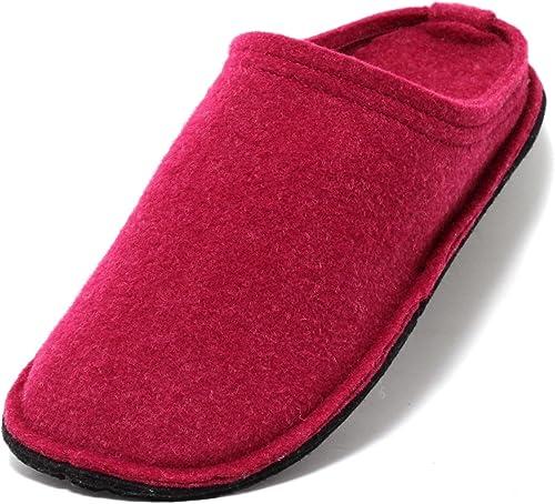Zapato Damen Hütten Hausschuhe aus Filz in Beere PINK Gr.37 40 Filzhausschuhe Filzpantoffeln Slipper Pantoffeln Puschen Hüttenschuhe