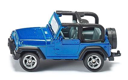 Amazon Com Siku Jeep Wrangler Die Cast Vehicle Toys Games