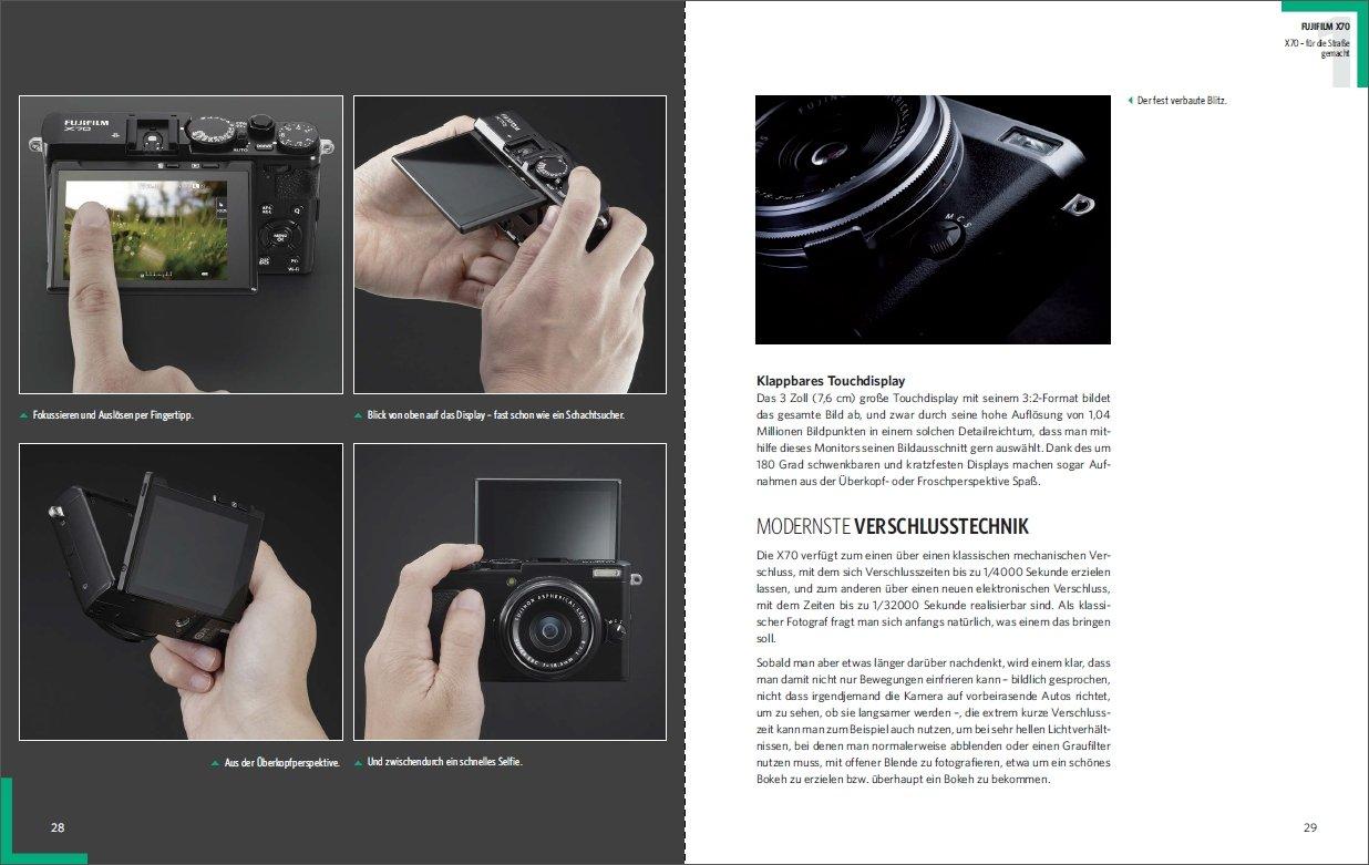 Fotografie Mit Der Fujifilm X70 Stark Kompakt Vielseitig Fr Digital Camera Paket Die Strae Gemacht Antonino Zambito Bcher