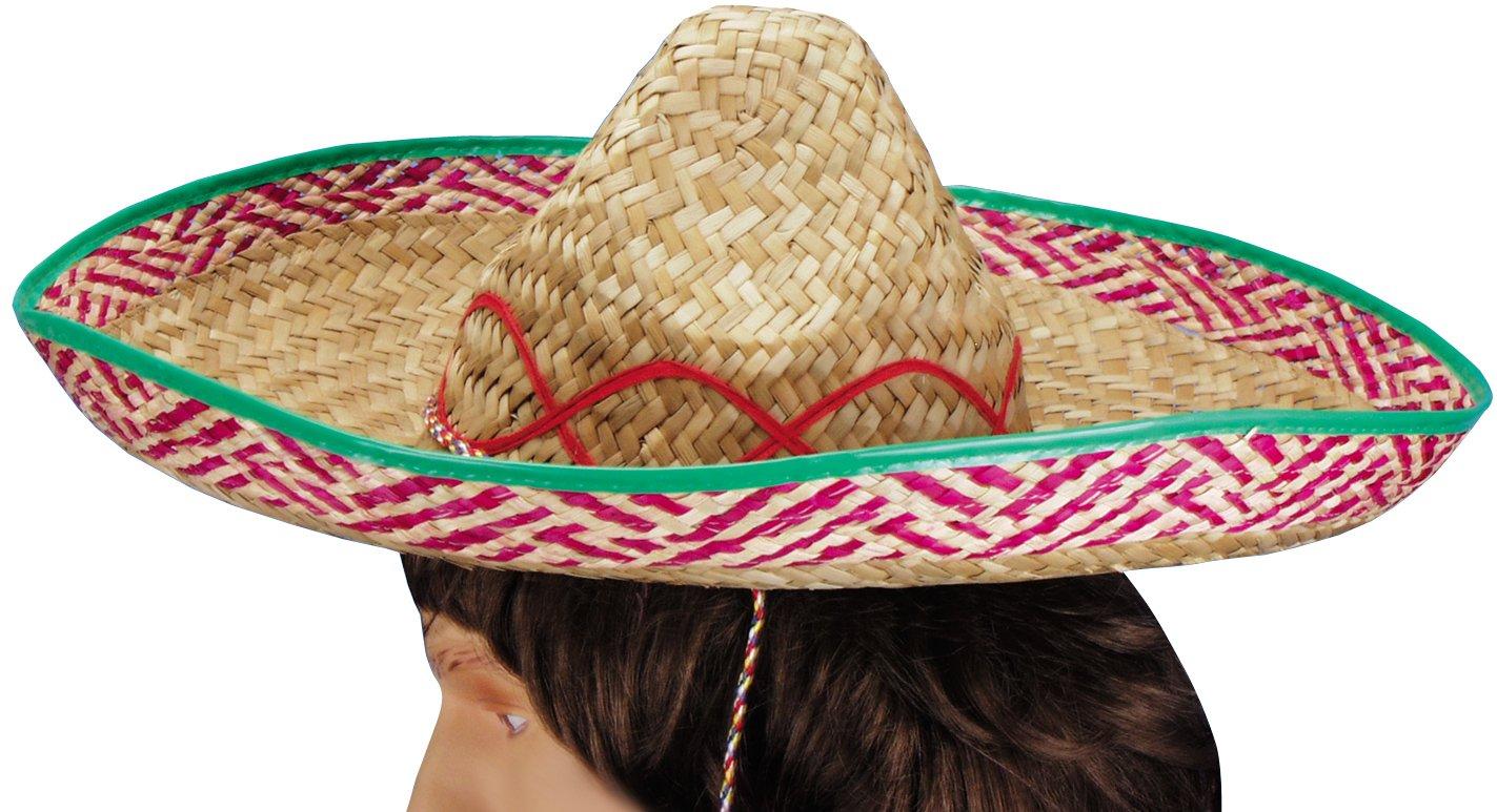 Loftus International Mariachi Woven Party Sombrero Hat, Brown, One Size