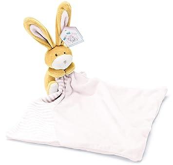 Mousehouse Gifts Bebé Recién Nacido Doudou Rosa con Peluche de Conejito para Bebés Niña