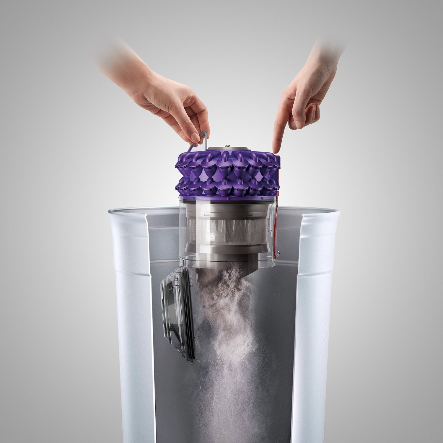 Dyson CY18 Cinetic Animal Canister Vacuum, Purple/Iron (Certified Refurbished) by Dyson (Image #5)
