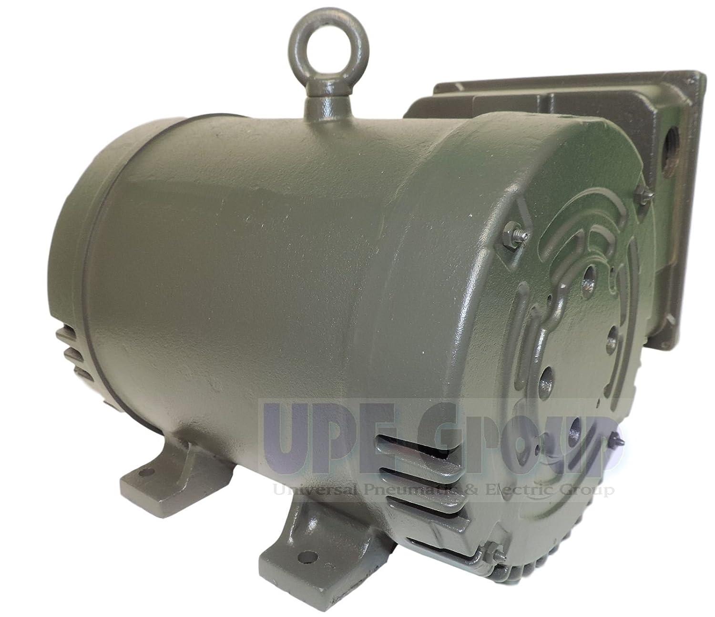 New Weg 75hp Heavy Duty Air Compressor Electric Motor 3450 Rpm 1 Sullivan Wiring Diagram Phase 184t Frame 230volt Cast Iron