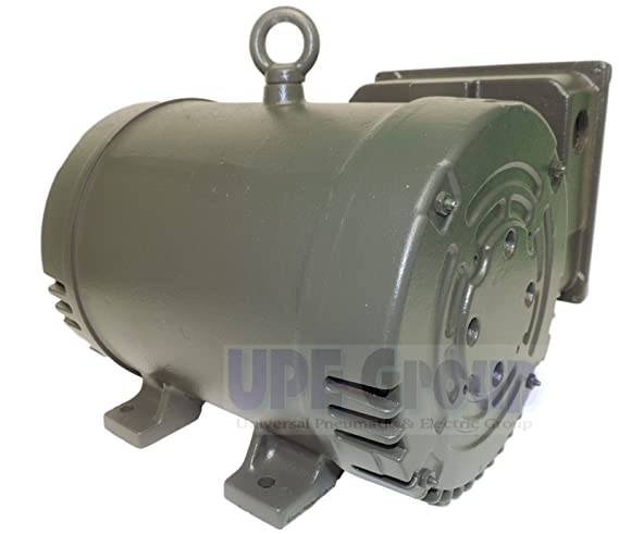 NEW WEG 7.5HP HEAVY DUTY AIR COMPRESSOR ELECTRIC MOTOR 3450 RPM, 1 Baldor V Wiring Diagrams on