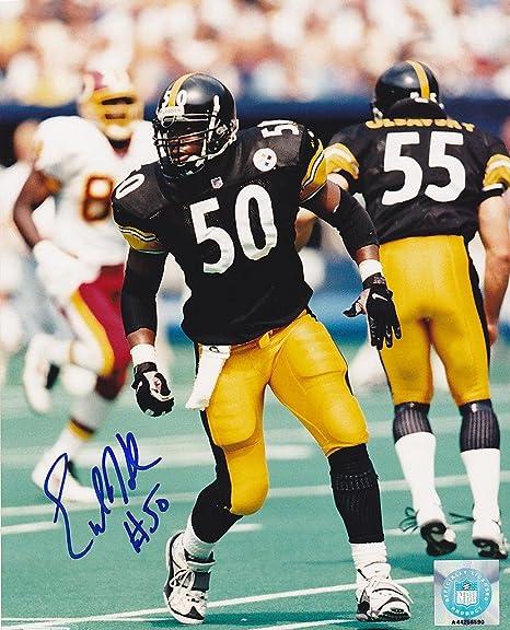 c1b7b2d1a22 Image Unavailable. Image not available for. Color  Autographed Earl Holmes  Photo - 8x10 - Autographed NFL Photos