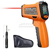 NKTECH NK-200C LCD Digital Laser Infrared IR Gun Thermometer -50~800°C Ambient Temperature Thermocouple K-Type -40~500°C 12:1 Non-contact Tester with Alarm Adjustable Emissivity