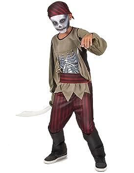 Disfraz pirata zombie niño - 4 - 6 años: Amazon.es: Juguetes y juegos