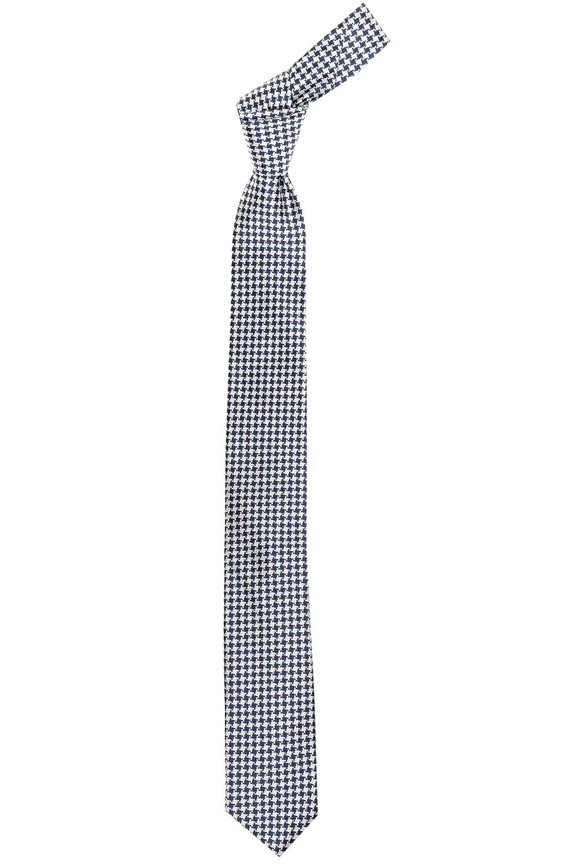 BOSS corbata de seda pepita pattern navy white: Amazon.es: Ropa y ...