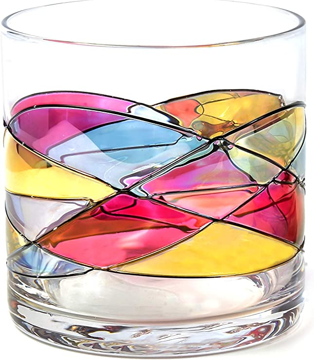 RED, 2 Whiskey Glass 12Oz ANTONI BARCELONA /…