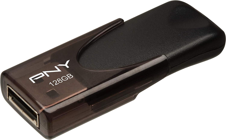 P-FD16GATT4-GE Black PNY Attach/é 4 16GB USB 2.0 Flash Drive