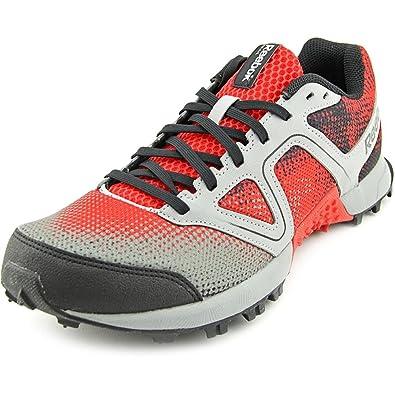 quality design 36bab 9cc2b Amazon.com   Reebok Men s Dirtkicker Trail II Running Shoe Red Grey Black  Size 11 New   Trail Running