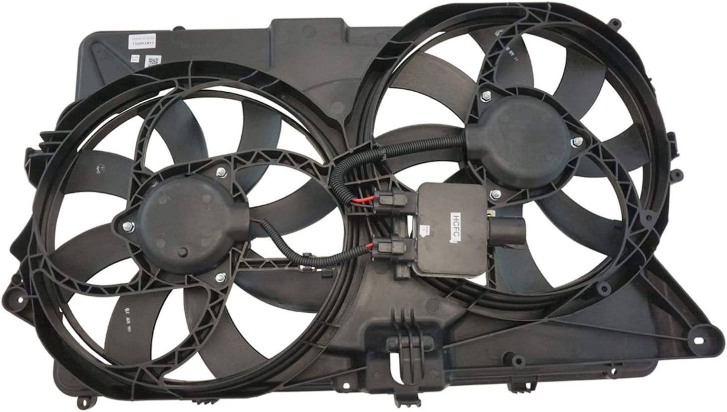 2009 Ford Flex Radiator Dual Cooling Fan Assembly Brand New