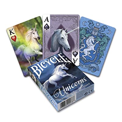 Bicycle Anne Stokes Unicorns Playing Cards: Toys & Games