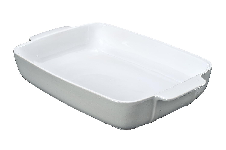 Pyrex 8013102 Signature Plat à Four Rectangulaire Blanc en Céramique 35 x  25 cm  Amazon.fr  Cuisine   Maison f33db47f31bd