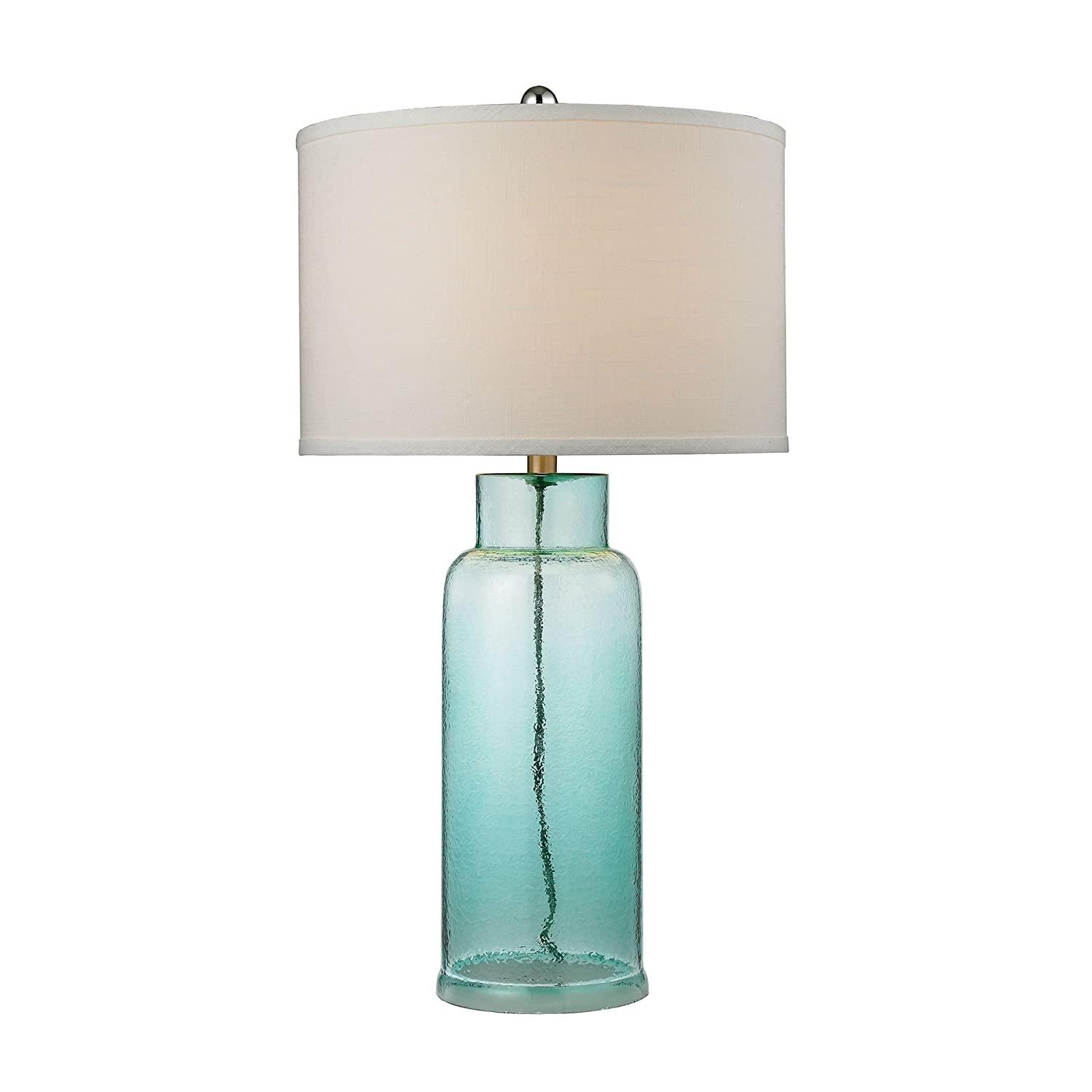 Amazon dimond lighting seafoam glass bottle table lamp home amazon dimond lighting seafoam glass bottle table lamp home improvement mozeypictures