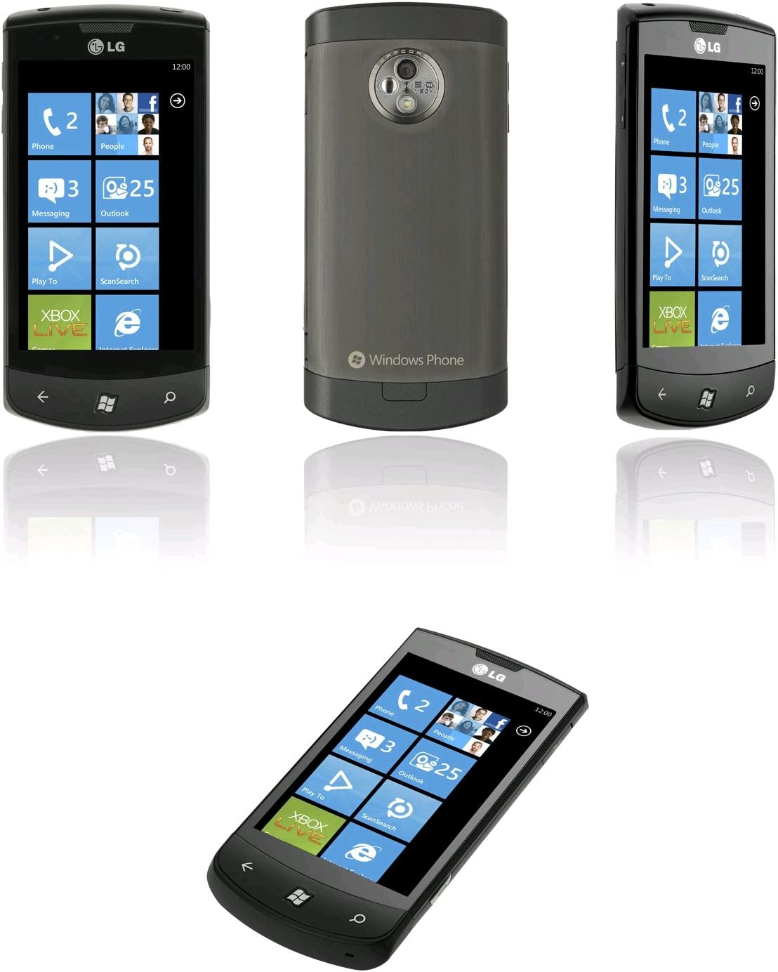 LG E900 - Smartphone Movistar Libre,(pantalla 3.8
