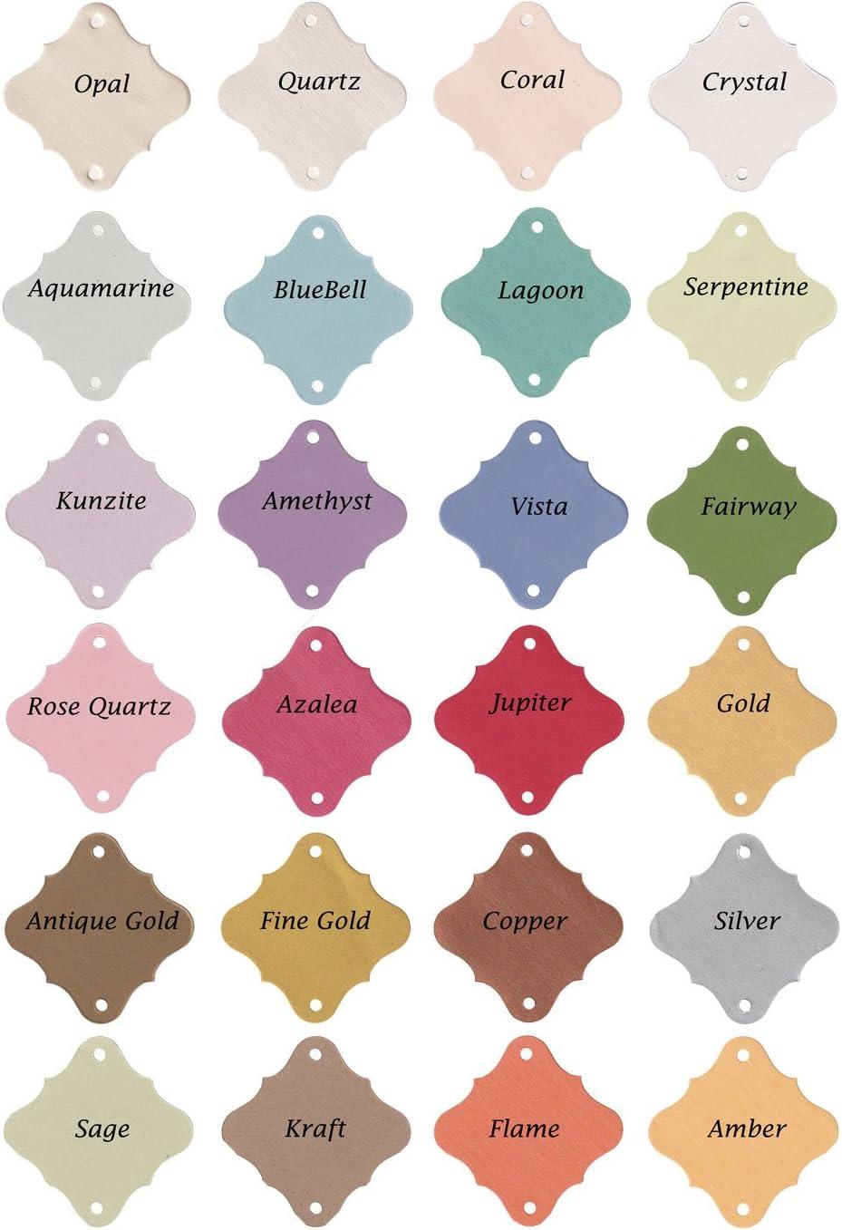 Crystal Color Shimmer Paper Let Love Sparkle 36pc Wedding Sparklers Tags