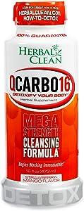 Herbal Clean Same-Day Premium Detox Drink, Strawberry Mango Flavor, 16 Fl Oz