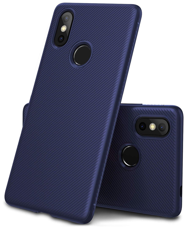 GeeMai Coque XiaoMi Mi 8, Ultra Mince Silicone Cas Solide, Durable, Anti-Chute, antidé rapant Cas Souple TPU Cas Mobile Té lé phone Case pour XiaoMi Mi 8 Smartphone(Noir)