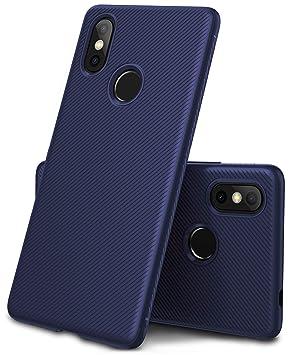 Geemai XiaoMi Mi 8 Funda Fina de Silicona, Funda Suave y Duradera, Funda de TPU. Estuche para Smartphone XiaoMi Mi 8.Azul