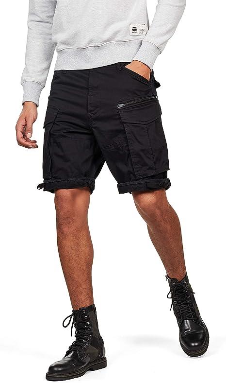 TALLA 33. G-STAR RAW Rovic Zip Relaxed 1-Length Shorts Pantalones Cortos para Hombre