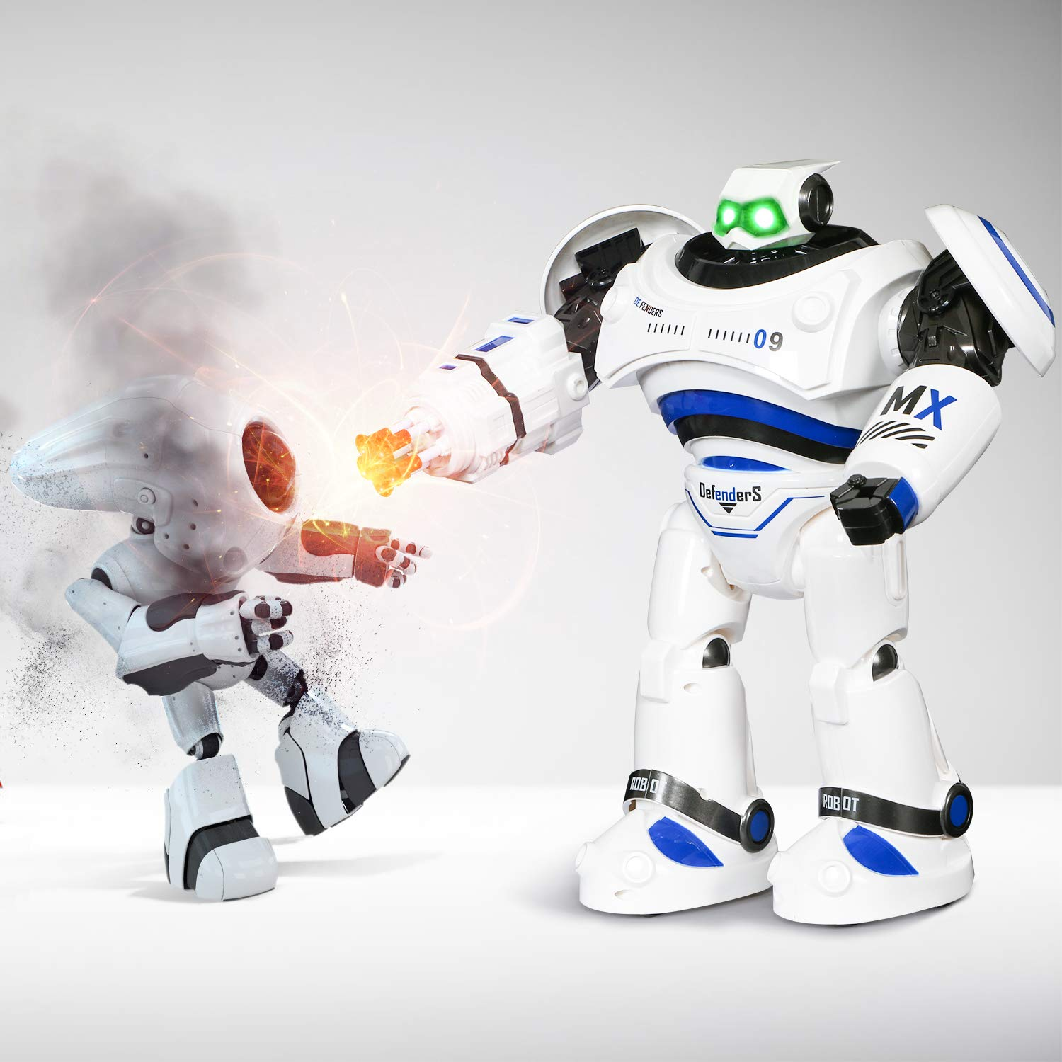 SGILE RC Robot Toy, Programmable Intelligent Walk Sing Dance Robot for Kids Gift Present, White by SGILE (Image #3)