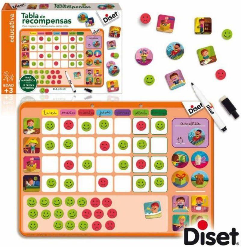 Diset - Tabla de recompensas (63699): Amazon.es: Juguetes y juegos