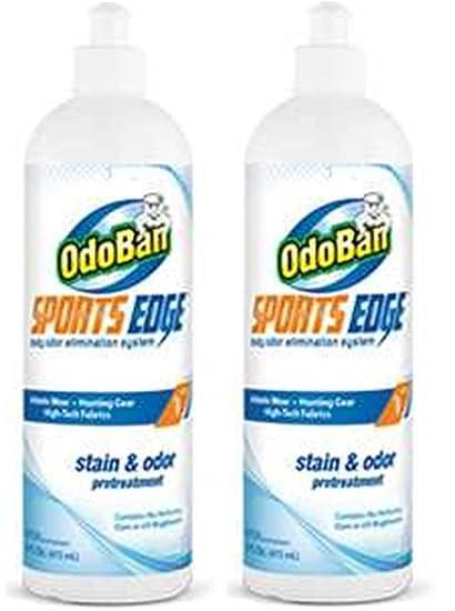 Lot de 2 – OdoBan deportes borde quitamanchas y olor seguro de tratamiento previo para todos