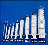 200ml Plastic Reusable Syringe for Nutrient
