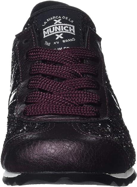 Munich Unisex Adults Osaka Trainers 7.5 UK 7.5 UK Morado- Metalizado 353 Purple