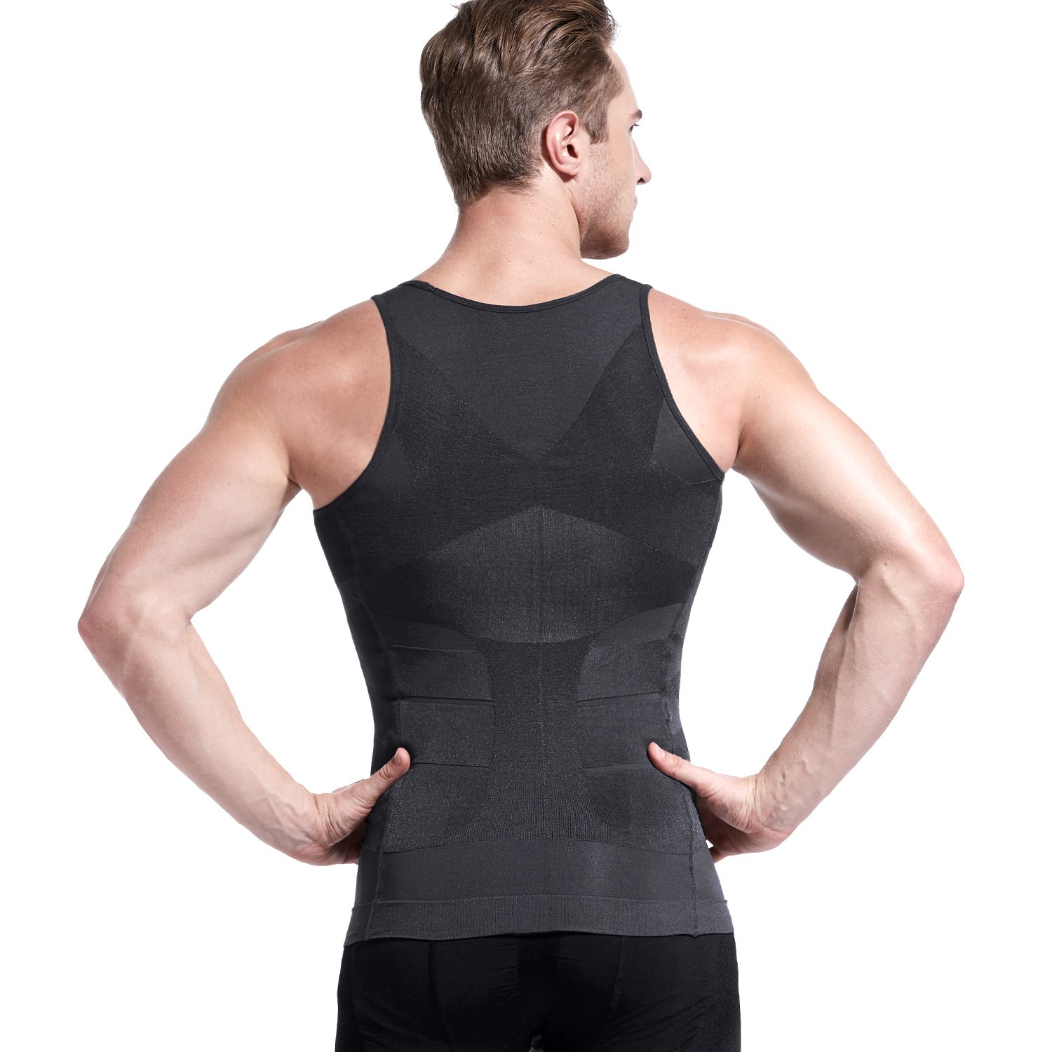 Clothing, Shoes & Accessories Mens Schlankheits Body Shaper Weste Shirt Abs Bauch Schlank Gr L Outstanding Features