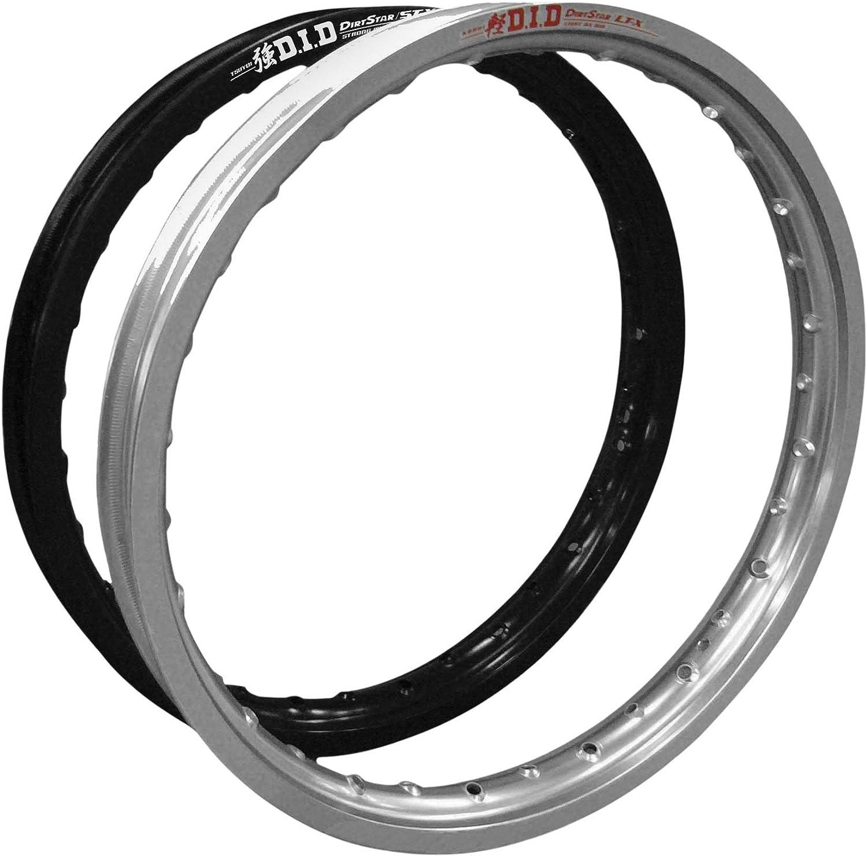 for 05-17 Suzuki RMZ450 Black 21 DID LT-X Dirt Star Rim