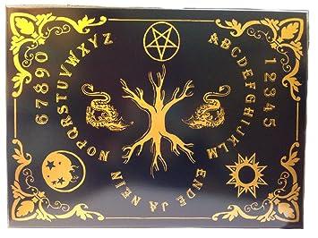 Furnier Löst Sich Vom Holz amazon de witchboard lebensbaum handgearbeitet aus teakholz