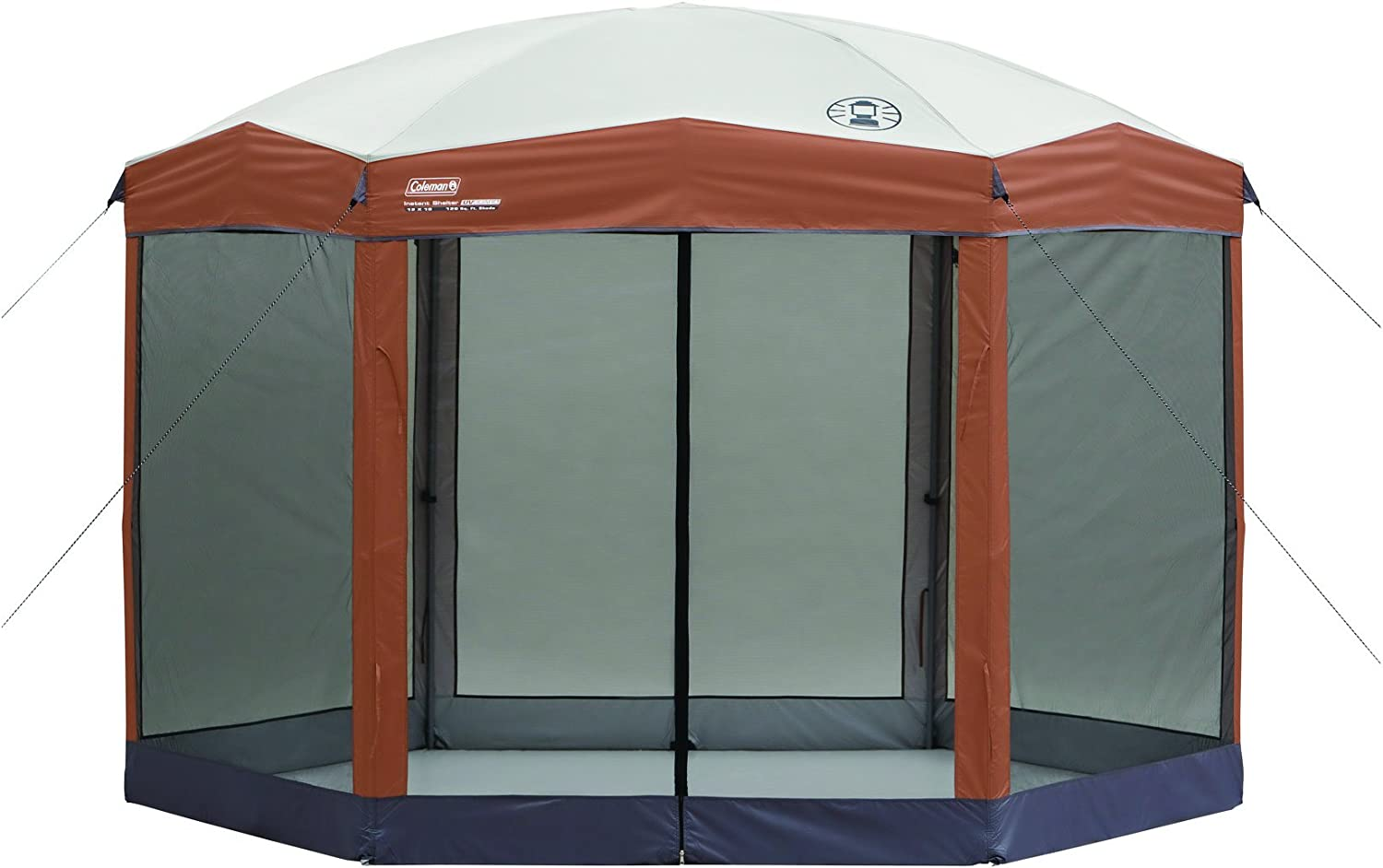 Coleman Screened Canopy Tent with Instant Setup | Outdoor Canopy and Sun Shade with 1 Minute Set Up: Sports & Outdoors