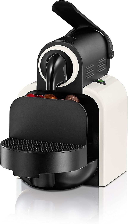 DeLonghi Essenza EN97 W - Cafetera monodosis Nespresso (19 bares, automática, programable, modo ahorro energía ...