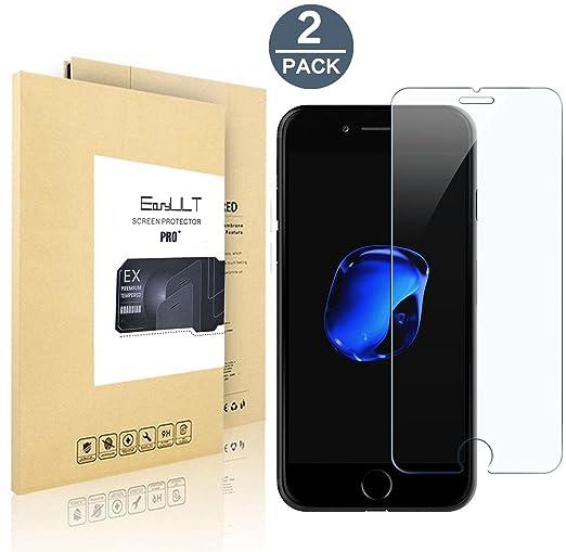 112 opinioni per Vetro Temperato iPhone 8 Plus / iPhone 7 Plus EasyULT, 2 Pack Pellicola
