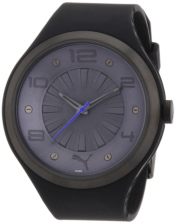 Puma Time Herren-Armbanduhr XL Camber Antracite Analog Quarz Plastik PU102361004