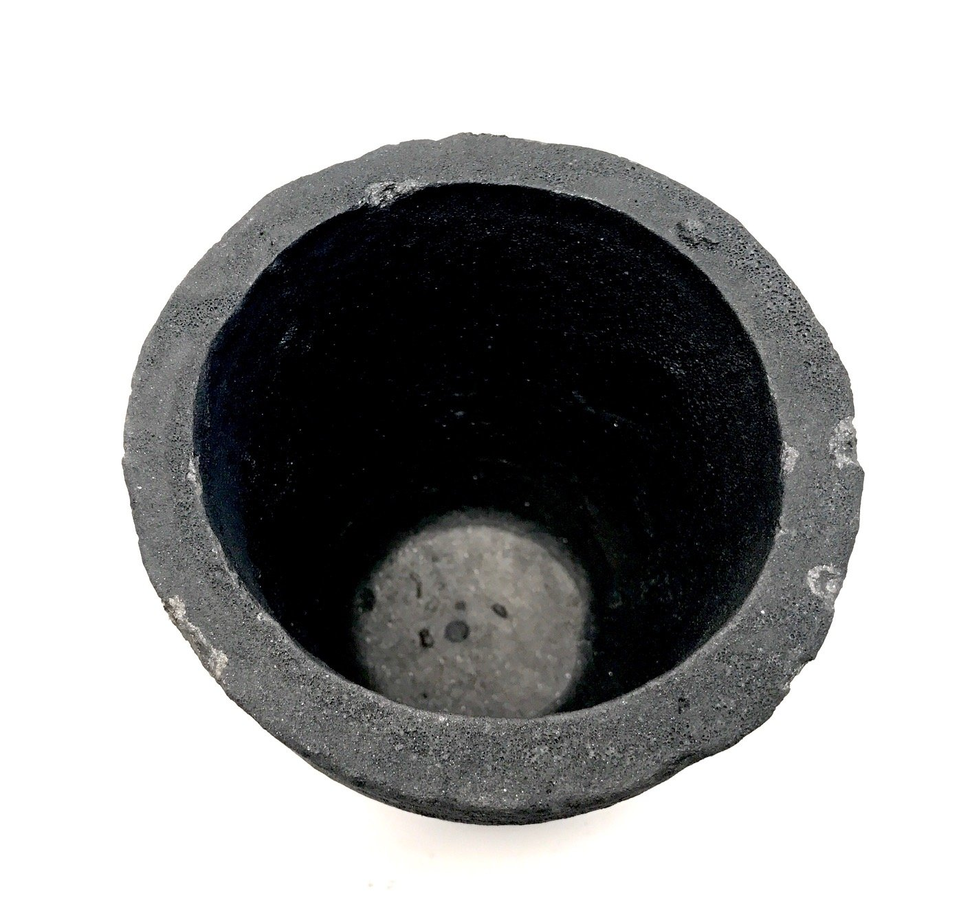 Cast Masters USA - 5 Kg Foundry Clay Graphite Crucible Furnace Torch Melting Casting Refining Gold Silver Copper Brass Aluminum