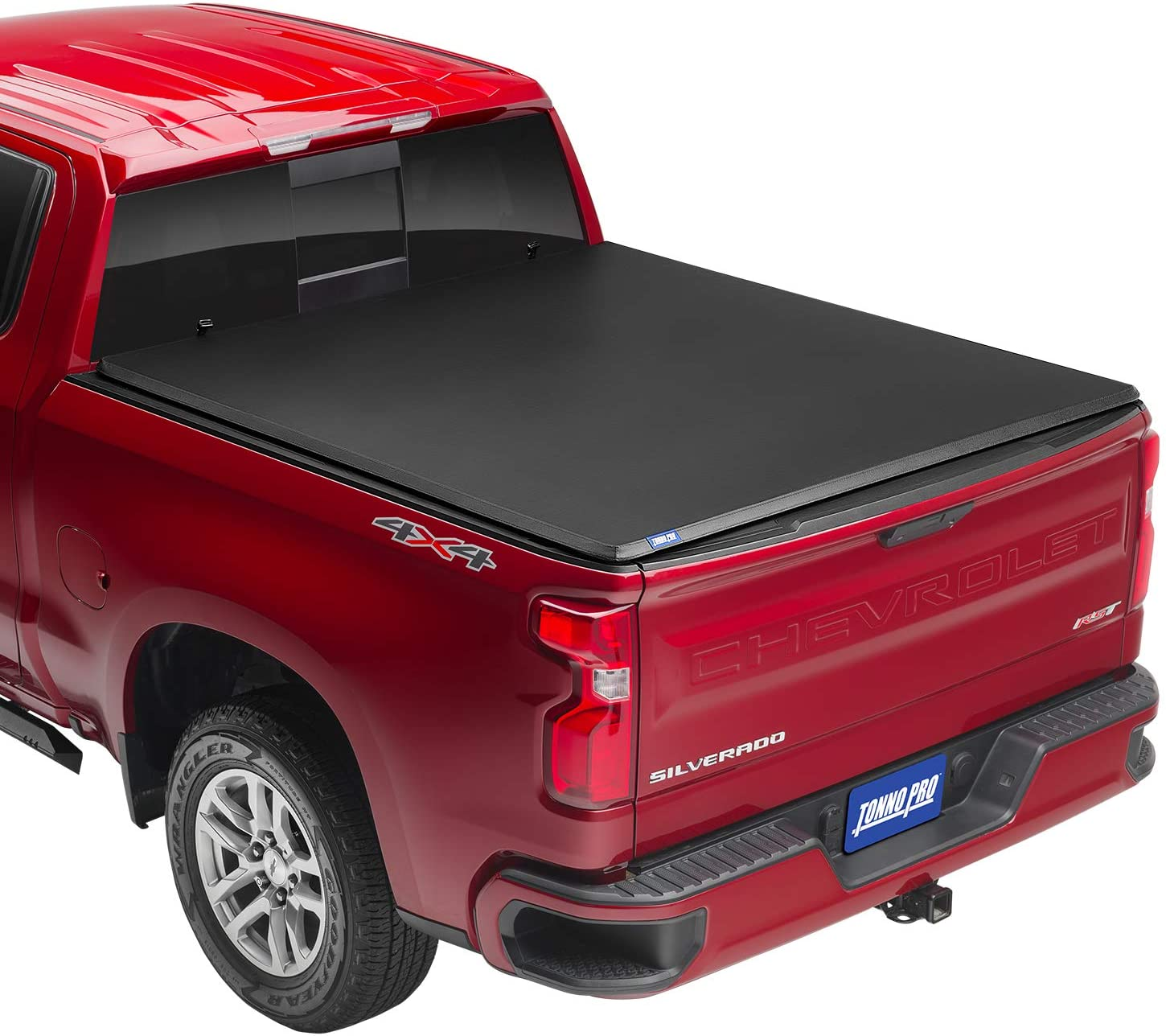 "Tonno Pro Tonno Fold, Soft Folding Truck Bed Tonneau Cover | 42-110 | Fits 1974 - 1983 GM C10 6'6"" Bed (78"")"