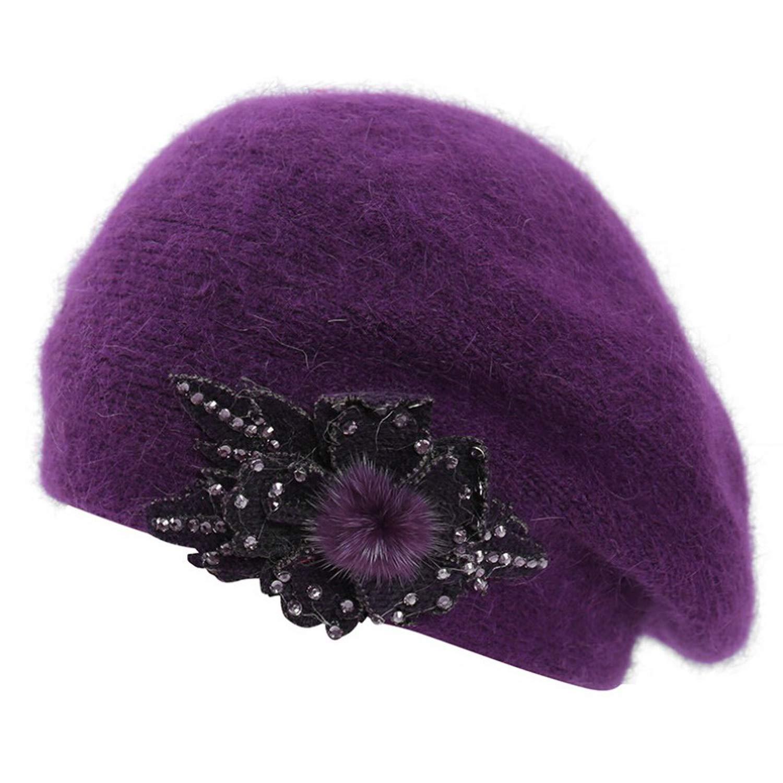 MingDe Sports Fashion Funny Women Hat Women Winter Warm Cap Knitted Hat Beret Baggy Beanie Hat Slouch Ski Cap Winter Hat