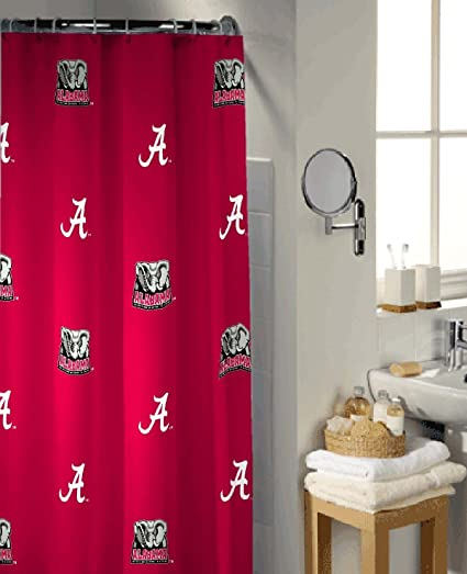 Image Unavailable Not Available For Color Alabama Crimson Tide Shower Curtain
