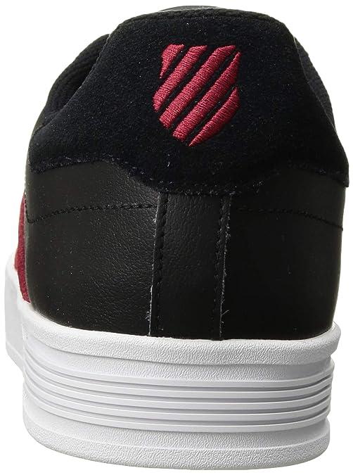 K-Swiss Mens Court LITE SPELLOUT Sneaker: Amazon.es: Zapatos y ...
