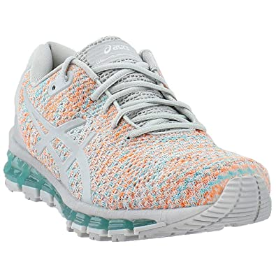 the best attitude c5661 82aab ASICS Gel-Quantum 360 Knit 2 Women s Running Shoe, Glacier Grey Orange Pop